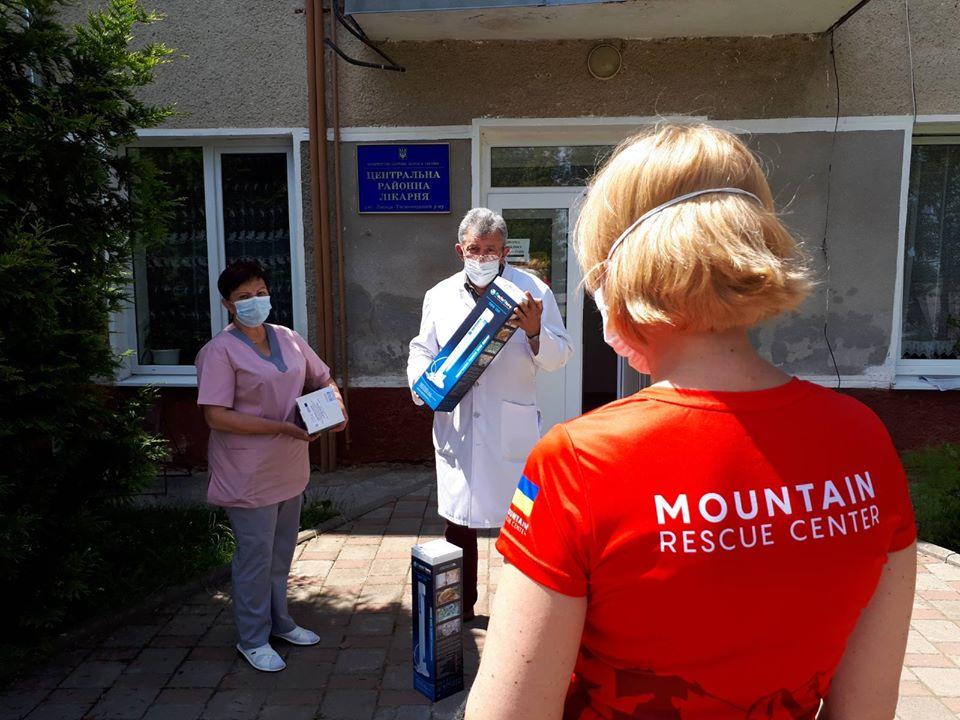 """Гірський рятувальний центр реалізовує проєкт """"Кварц-допомога Прикарпаттю"""""""