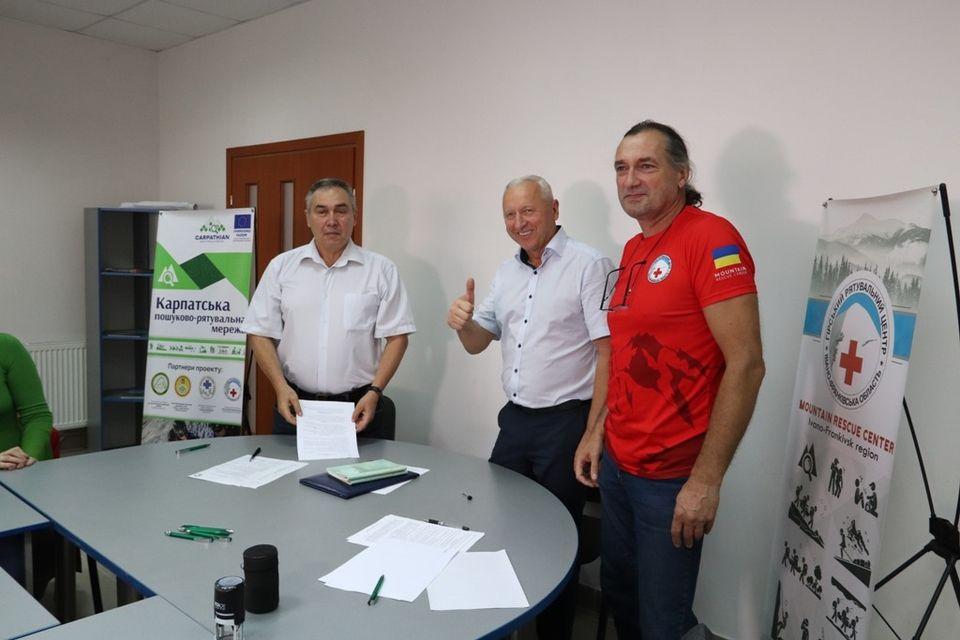 Гірський рятувальний центр співпрацюватиме з франківськими Червоним хрестом та коледжем фізичного виховання